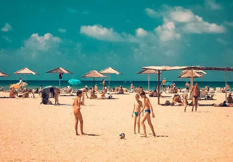 Детские песчаные пляжи в Крыму