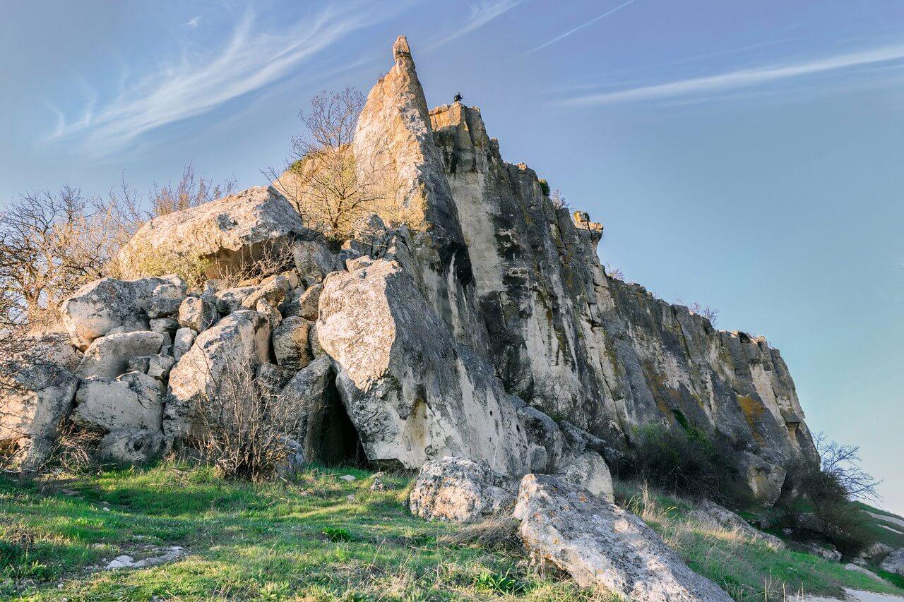 Вид на окрестности Тепе-Кермен