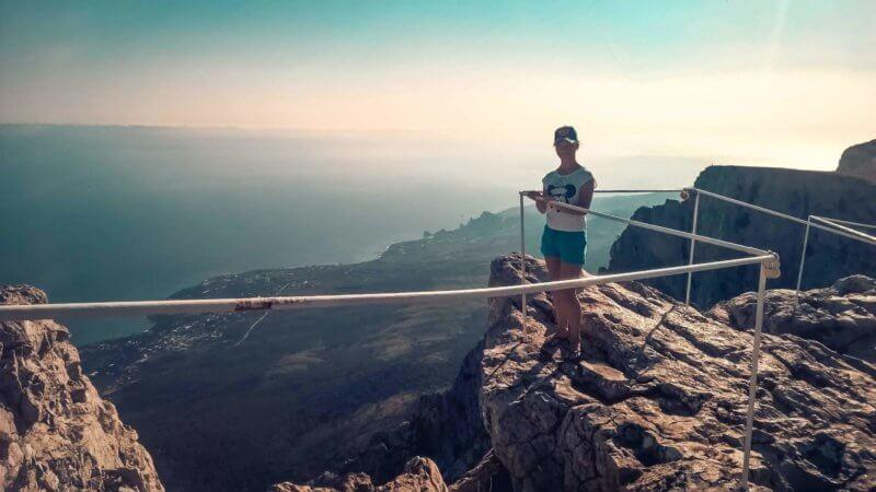 Фото с горы Ай-Петри
