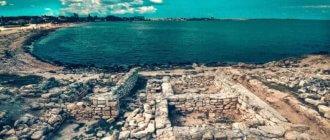 Античный город Калос Лимен в Крыму