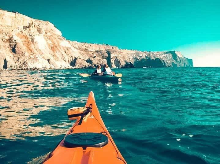 Прогулки по морю на каякинге - фото Крым