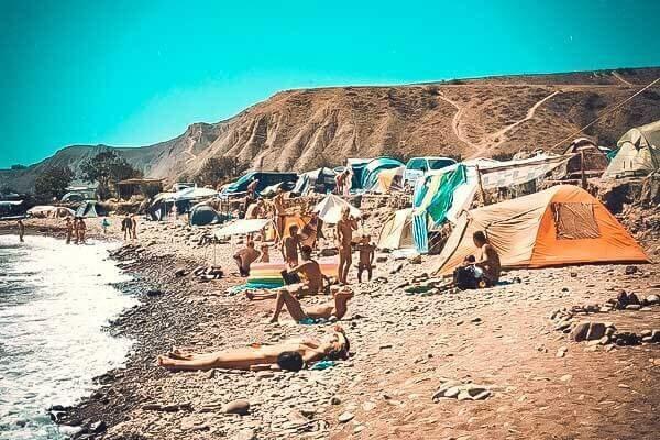 Лисья бухта - нудистский пляж