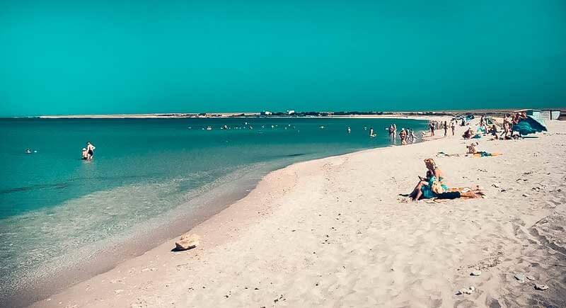 Чистый пляж - Мыс Тарханкут