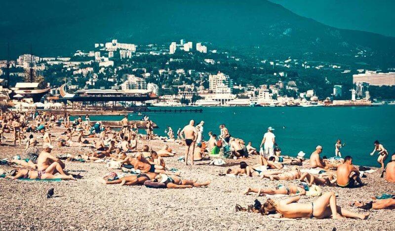 Пляжи Крыма - фото