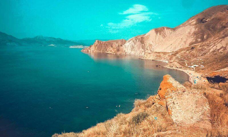 Один из самых чистейших Крымских пляжей