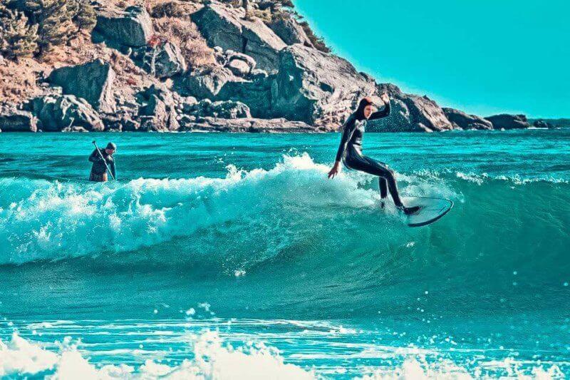 Места для сёрфинга в Крыму